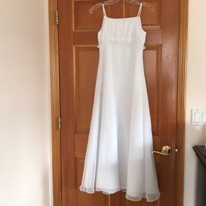 Cute David's bridal flower girl dresses